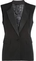Jamie tailored twill vest