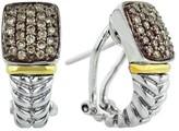 Effy Jewelry Effy 925 Cognac Diamond Earrings, .54 TCW