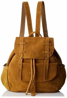 Mila Louise Women's 3250VCG Backpack Handbag Yellow Yellow (SAFRAN 46)