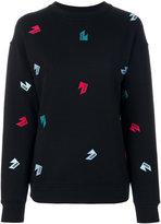 Versus logo patch sweatshirt - women - Cotton - S