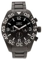 Invicta Men's 20455 TI-22 Quartz Multifunction Black Dial Link Watch - Black