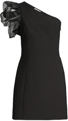 LIKELY Nelia One-Sleeve Mini Dress