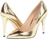 Joan & David Amandie (Gold Metallic Leather) - Footwear