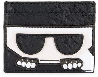 Karl Lagerfeld Paris Faux Leather Card Case