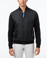 INC International Concepts Men's Mixed Media Quilted Jacket, Only at Macy's
