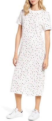 ban.do Party Dots T-Shirt Midi Dress