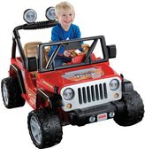 Fisher-Price Power Wheels Ride-On Jeep Wrangler by