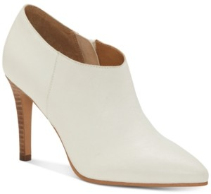 Lucky Brand Tirae Pointed-Toe Leather Shootie Women's Shoes