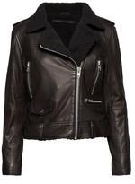 Munderingskompagniet Mdk Munderingskompagniet - MDK Seattle Fur Leather Jacket