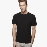 James Perse Spaced Jersey Contrast Stitch Tee