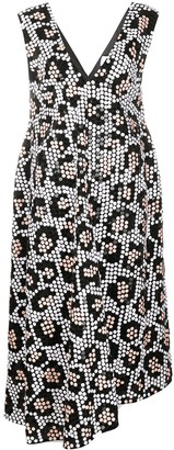 Christian Wijnants Darik leopard-pattern dress