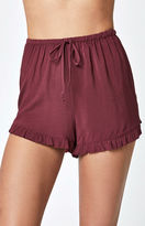 Lisakai Woven Ruffle Soft Shorts
