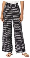 Tommy Bahama Delhi Ditzy Smocking Pants (Black) Women's Casual Pants