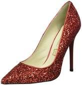 Buffalo London Women's 11335-269 GLITTER Pumps Red Size: 5
