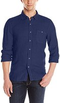 Velvet by Graham & Spencer Men's Shayne Woven Button Down Shirt