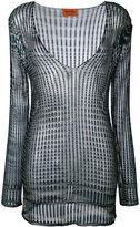Missoni v-neck blouse - women - Rayon - 42