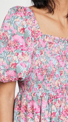 ENGLISH FACTORY Floral Print Maxi Dress