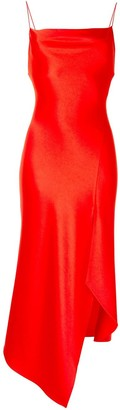 Alice + Olivia Front Slit Asymmetric Dress