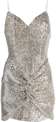 Magda Butrym Sequin-Embellished Mini Dress