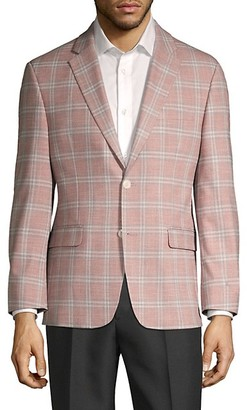 Tommy Hilfiger Standard-Fit Windowpane Sportcoat
