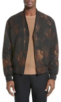 The Kooples Men's Foiled Bomber Jacket