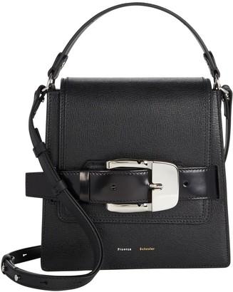 Proenza Schouler Trapeze Buckle Leather Bag