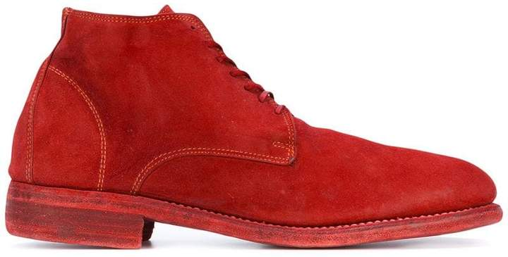 Guidi ankle lace-up boots