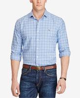 Polo Ralph Lauren Men's Big & Tall Plaid Oxford Shirt