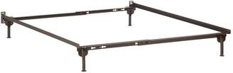 Atlantic Furniture Mission Headboard Full w/ Metal Bed Frame