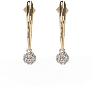 Alexis Bittar Linear Pave Stud Post Earrings