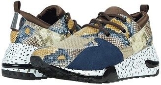 Steve Madden Cliff Sneaker (Natural Snake) Women's Shoes