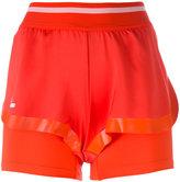 adidas by Stella McCartney logo print shorts