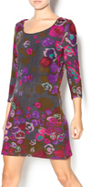 Papillon Purple Floral Dress