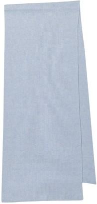 Ganni Recycled wool-blend scarf