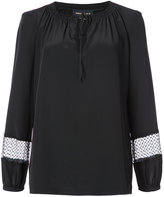 Vanessa Seward drawstring neck blouse