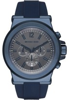 Michael Kors MK8493 Blue Ion Plated Stainless Steel 48mm Mens Watch