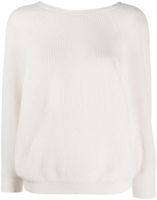 BA&SH Ruched Cashmere Jumper