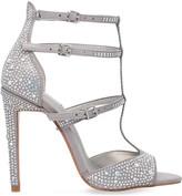 Carvela Gaye embellished metallic sandals