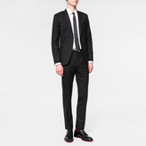 Paul Smith Men's Slim-Fit Black Wool 'A Suit To Travel In'
