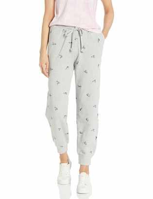 Lucky Brand Women's Allover Embroidered Jogger Pant