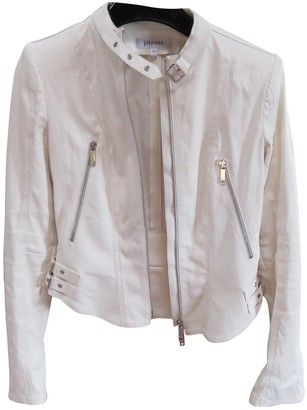 Jitrois White Leather Leather jackets