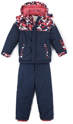 La Redoute Collections Girls' Ski Jacket and Trousers, 3-12 Years