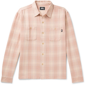 Stussy Checked Cotton-Flannel Shirt