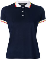 DSQUARED2 contrast collar polo top - women - Cotton - XS