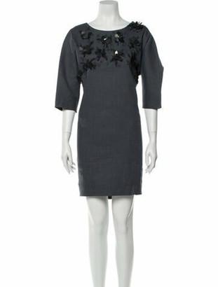 Maiyet Linen Mini Dress w/ Tags Grey