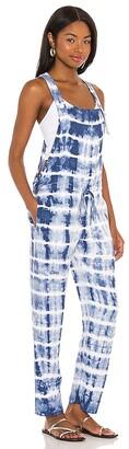 Bella Dahl Textured Tie Dye Overall