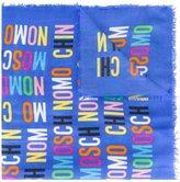 Moschino monogram print scarf