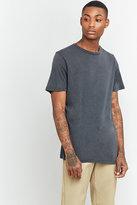 Uo Oversized Washed Black T-shirt