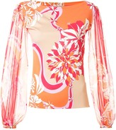 Emilio Pucci Vahine print blouse