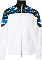 DSQUARED2 sporty jacket - men - Cotton/Spandex/Elastane/Viscose - 48